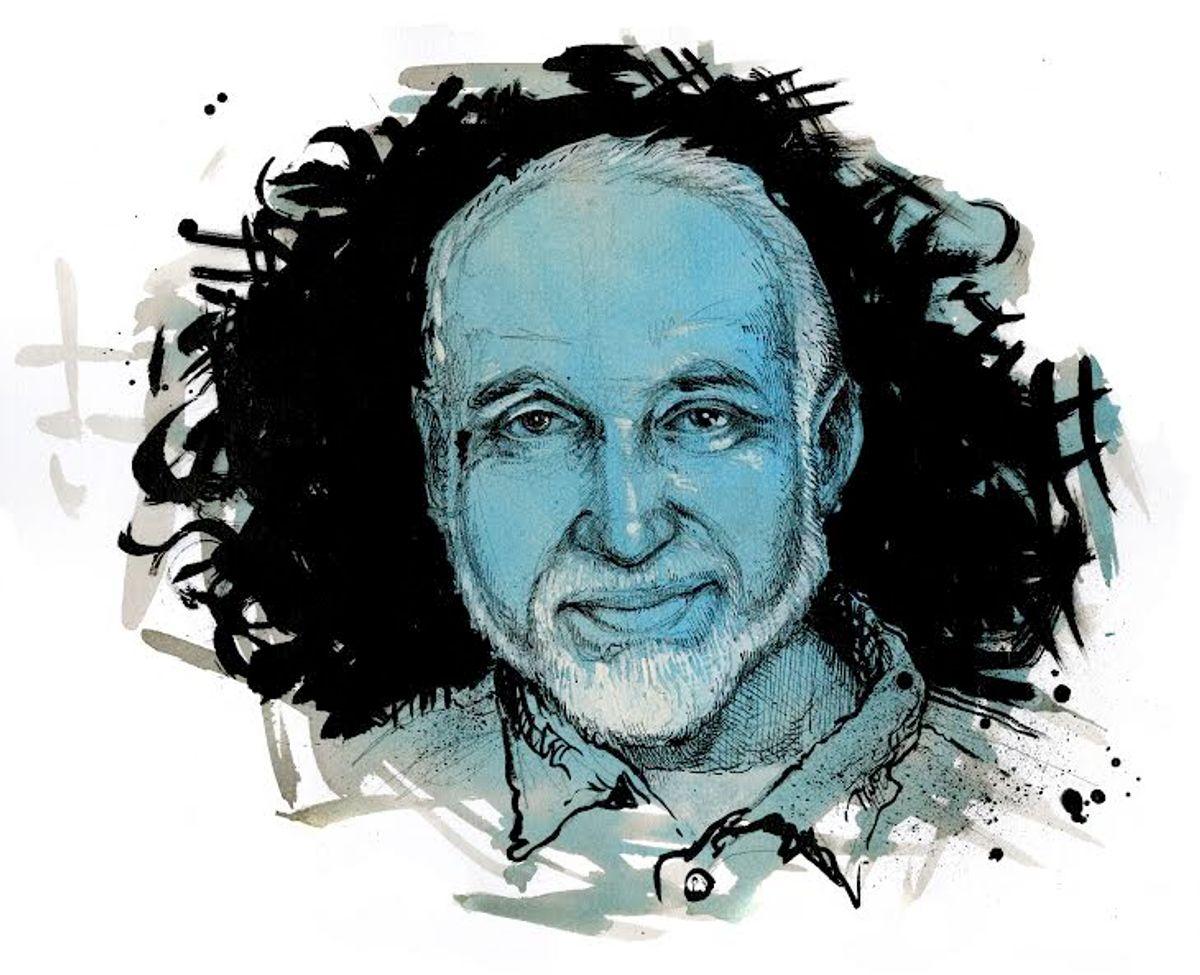Ghassan Elashi, 2014.  (Molly Crabapple, Creative Time Reports)