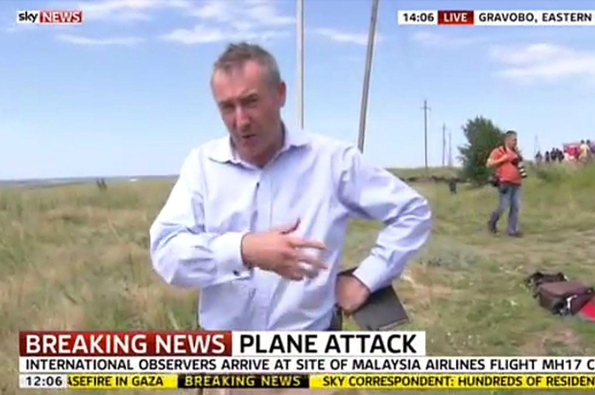 Colin Brazier      (Sky News)