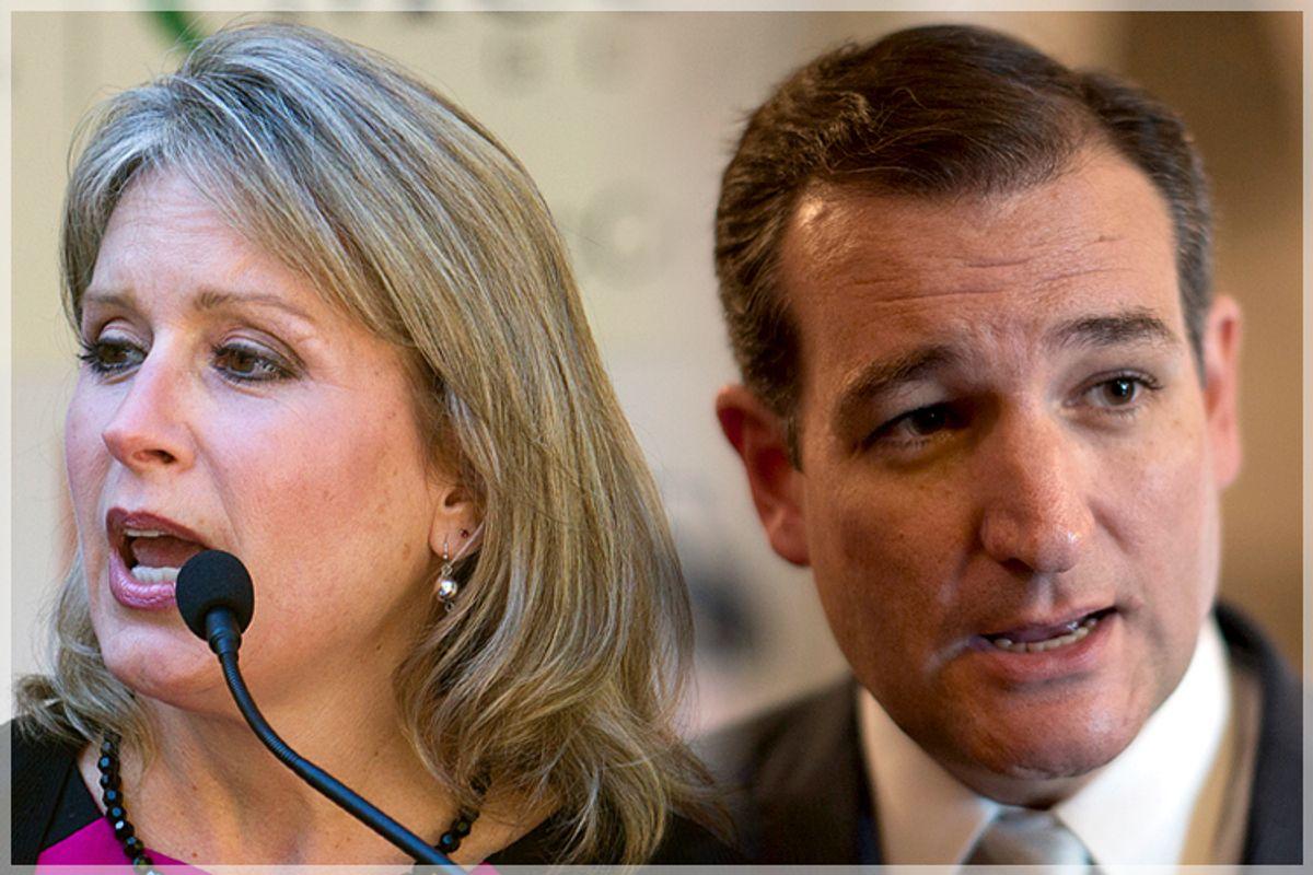 Renee Ellmers, Ted Cruz               (AP/Karl B DeBlaker/Reuters/Jason Reed/Photo collage by Salon)