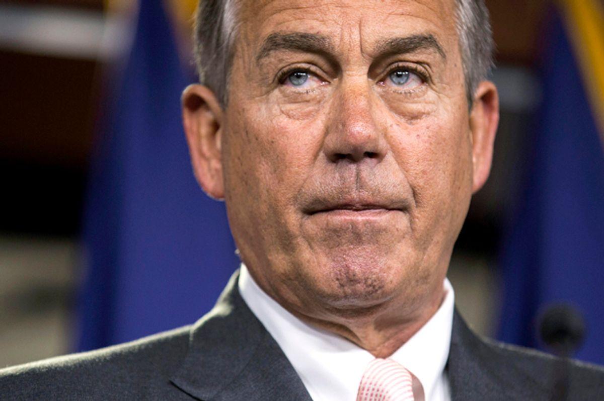 John Boehner                                   (Reuters/Joshua Roberts)