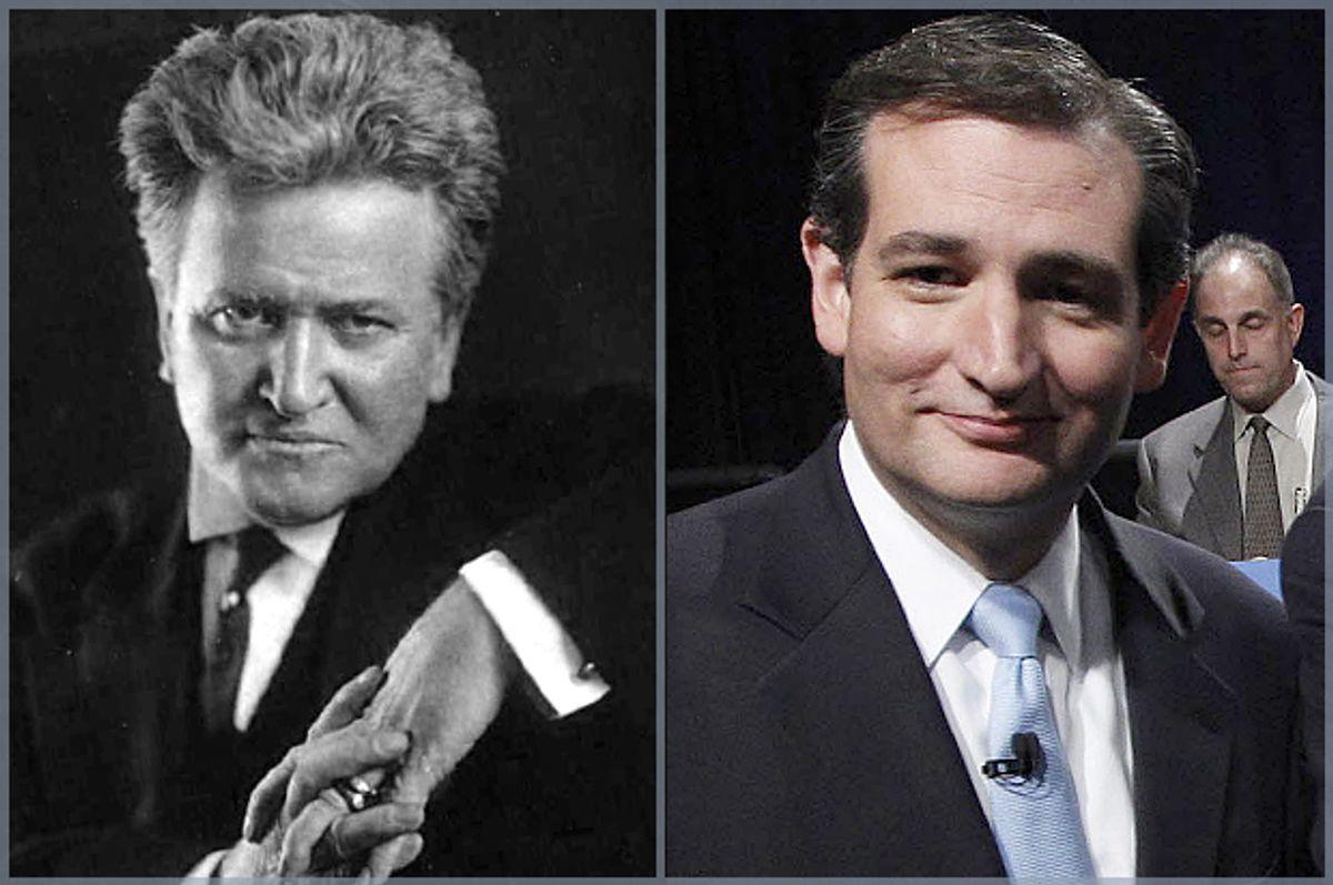 Robert La Follette, Ted Cruz          (Wikimedia/AP/LM Otero)