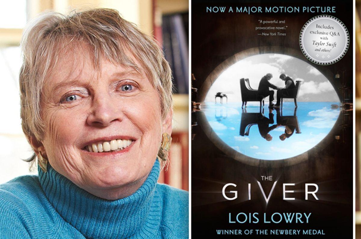 Lois Lowry      (Houghton Mifflin Books/Matthew Mckee)