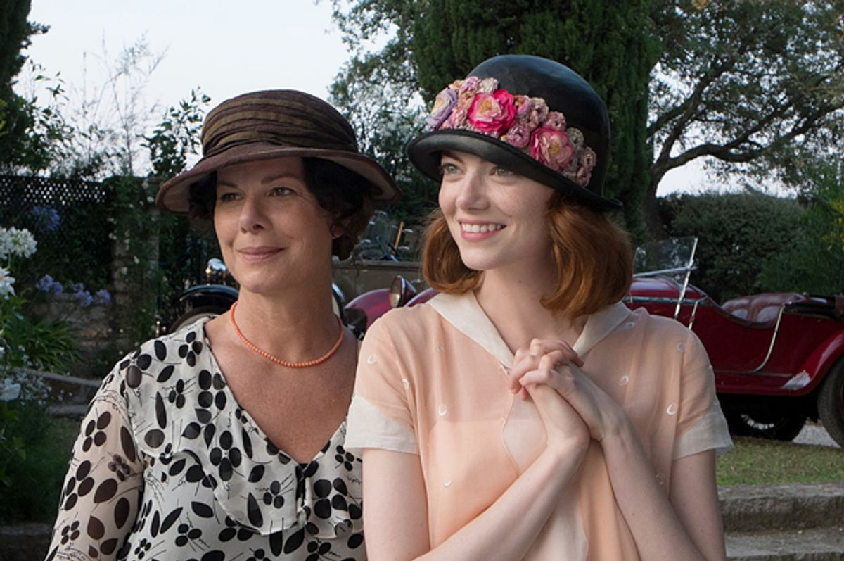 """Marcia Gay Harden and Emma Stone in """"Magic in the Moonlight"""""""