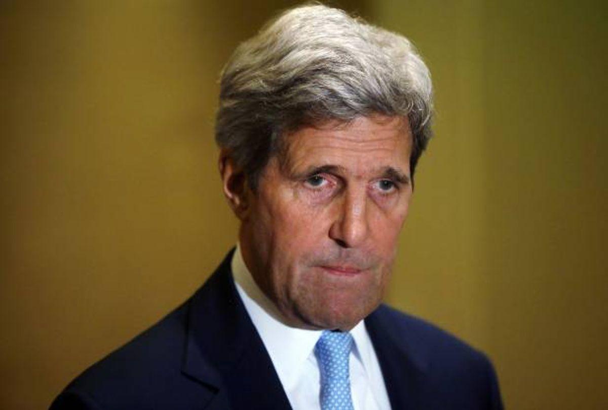 U.S. Secretary of State John Kerry  (AP Photo/Pool)