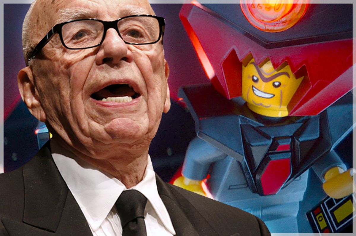 Rupert Murdoch, Lord Business            (Reuters/David Gray/Warner Brothers Pictures)