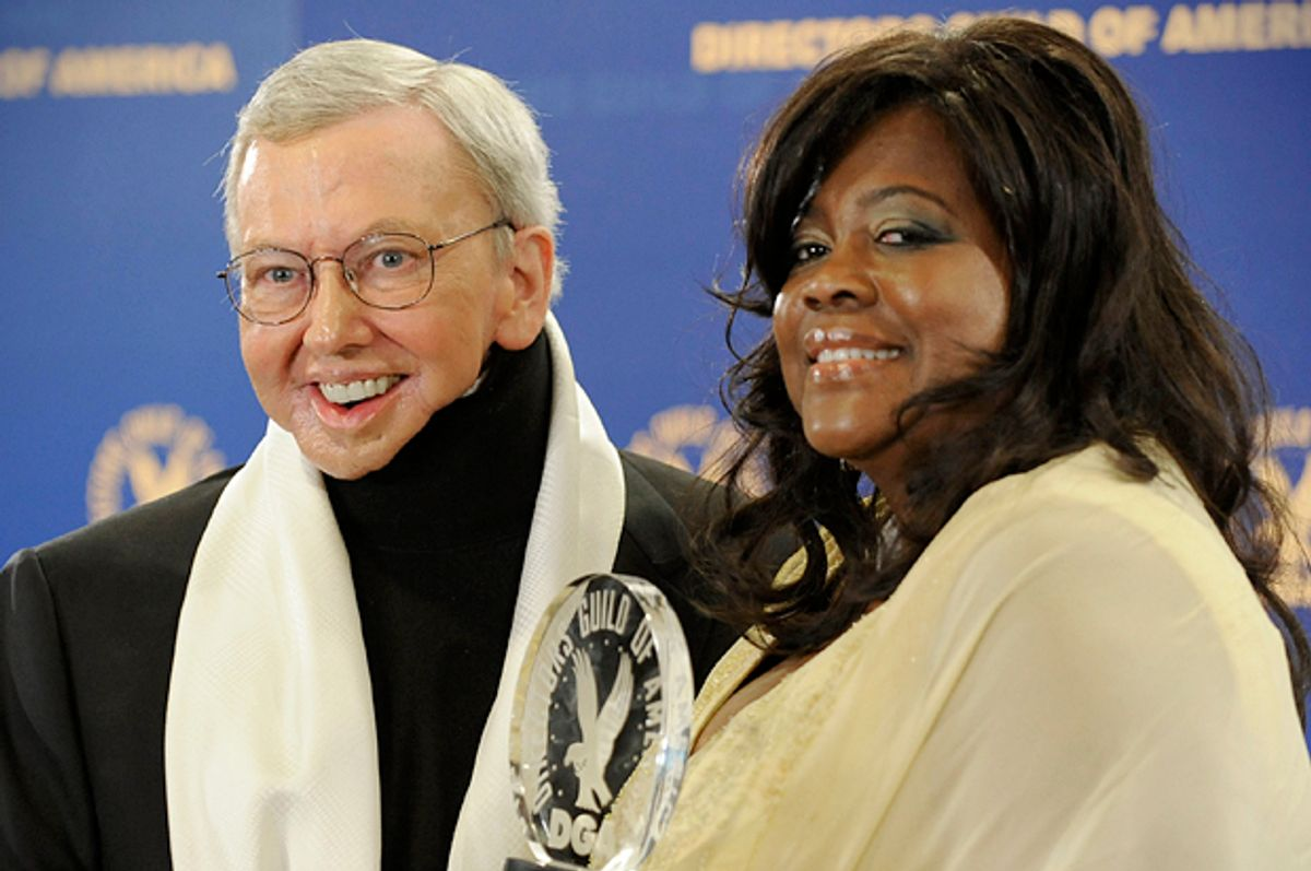Roger and Chaz Ebert     (AP/Chris Pizzello)