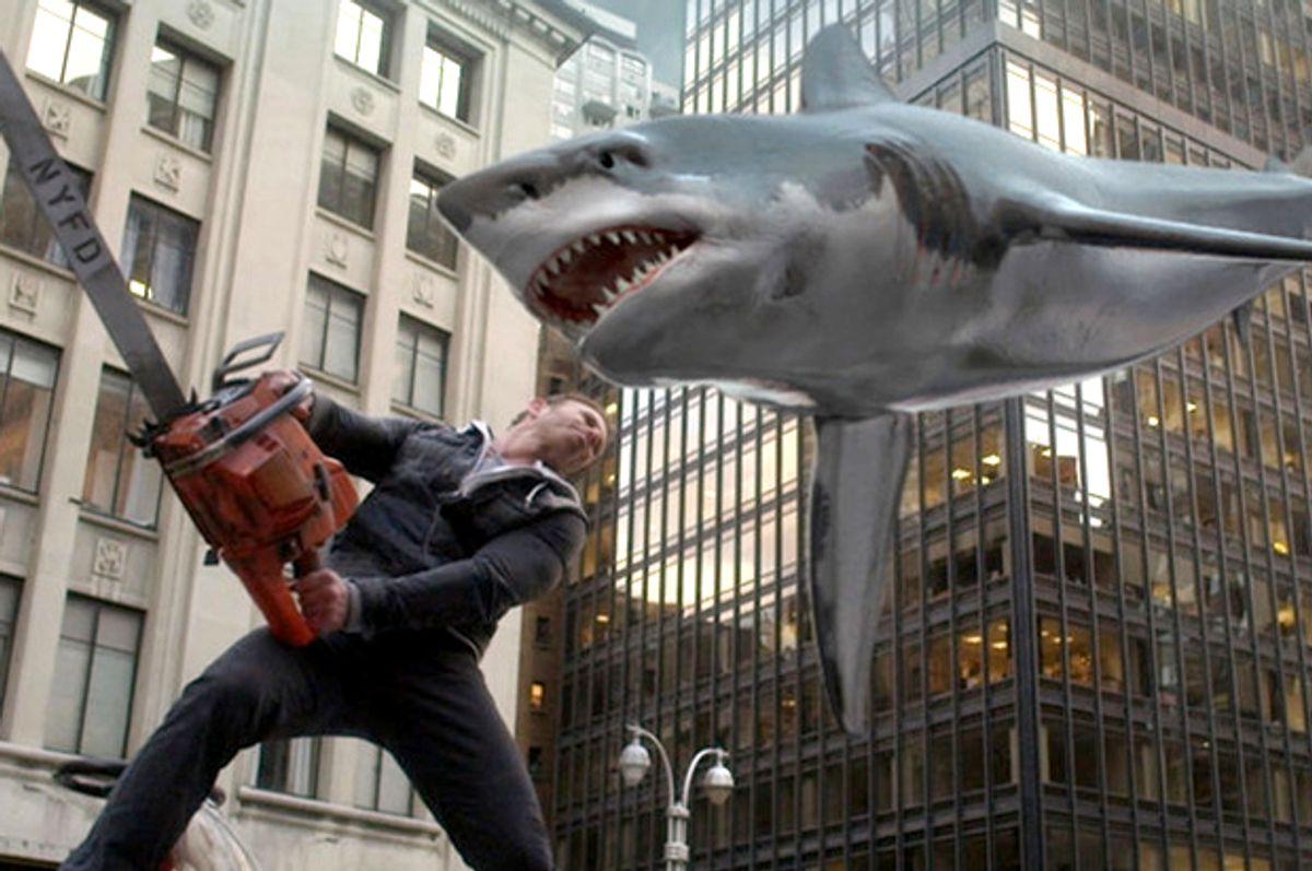 "Ian Ziering in ""Sharknado 2: The Second One""     (Syfy)"
