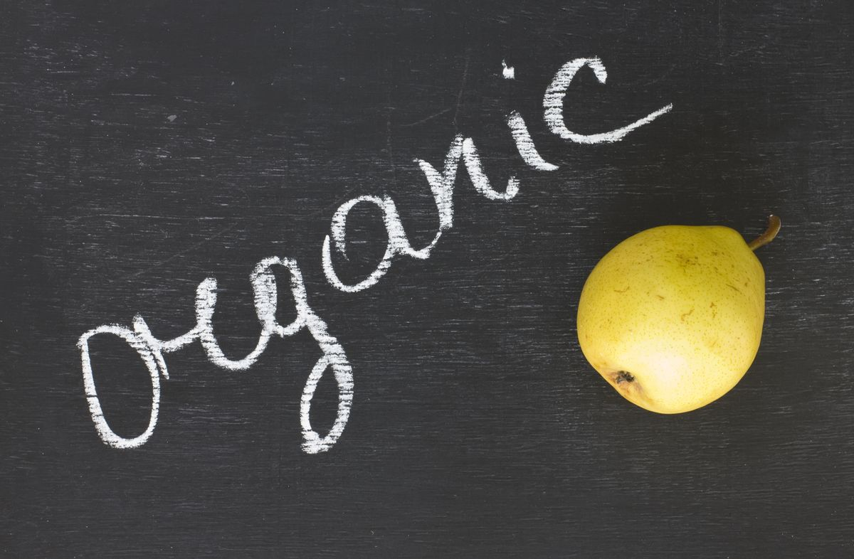Organic pear  (shutterstock)