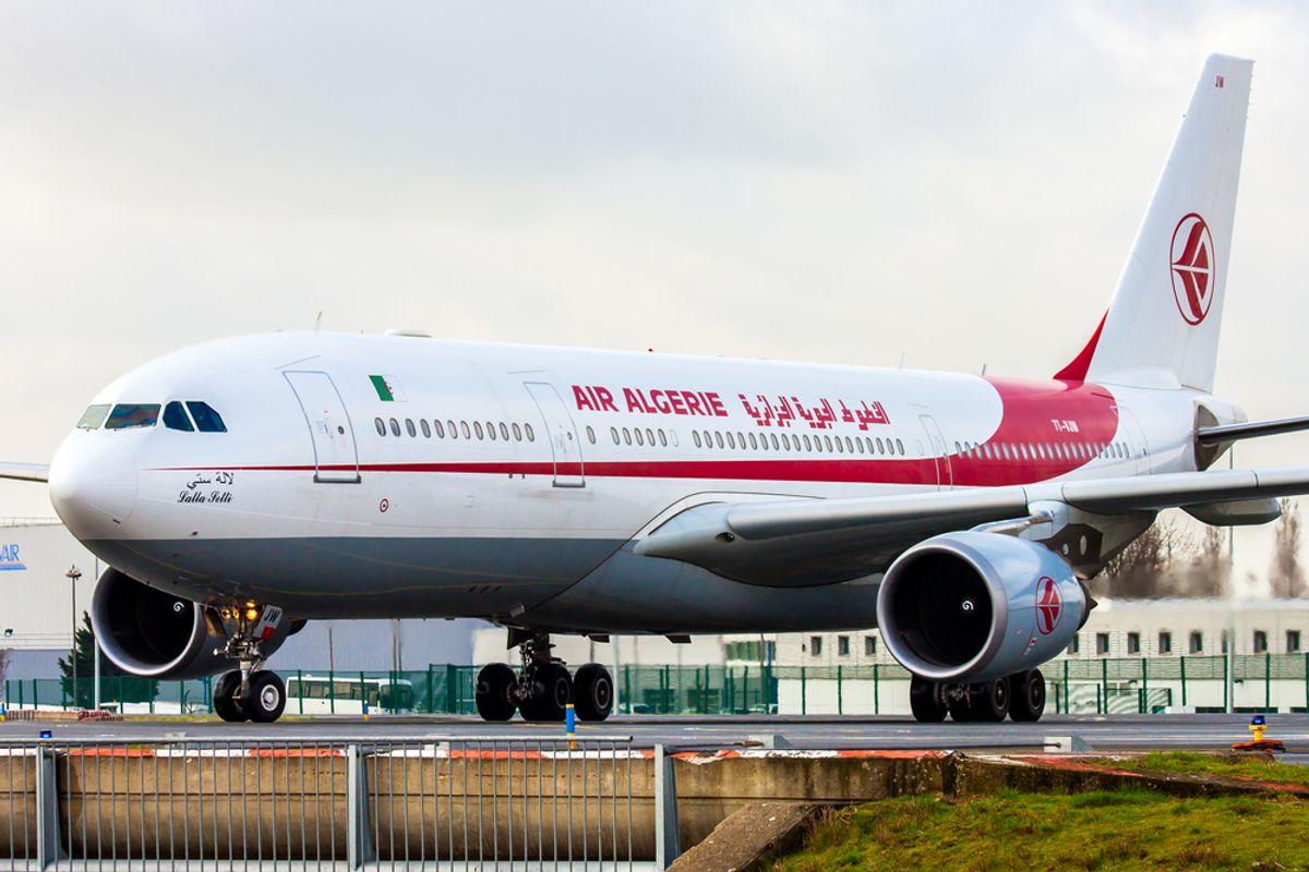 An Air Algerie plane. (Shutterstock)
