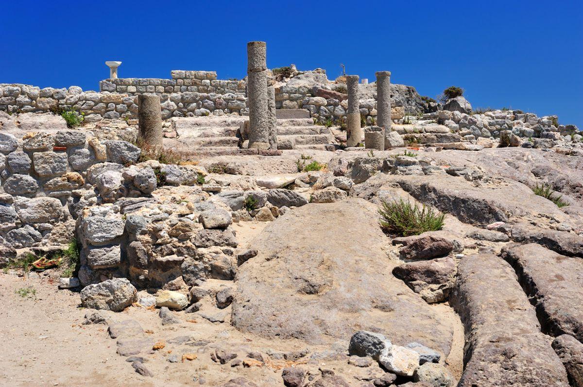 Ruins of Astypalaia (kern/Shutterstock)