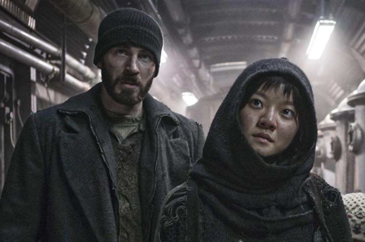 "Chris Evans and Ah-sung Ko in ""Snowpiercer""      (Radius/TWC)"