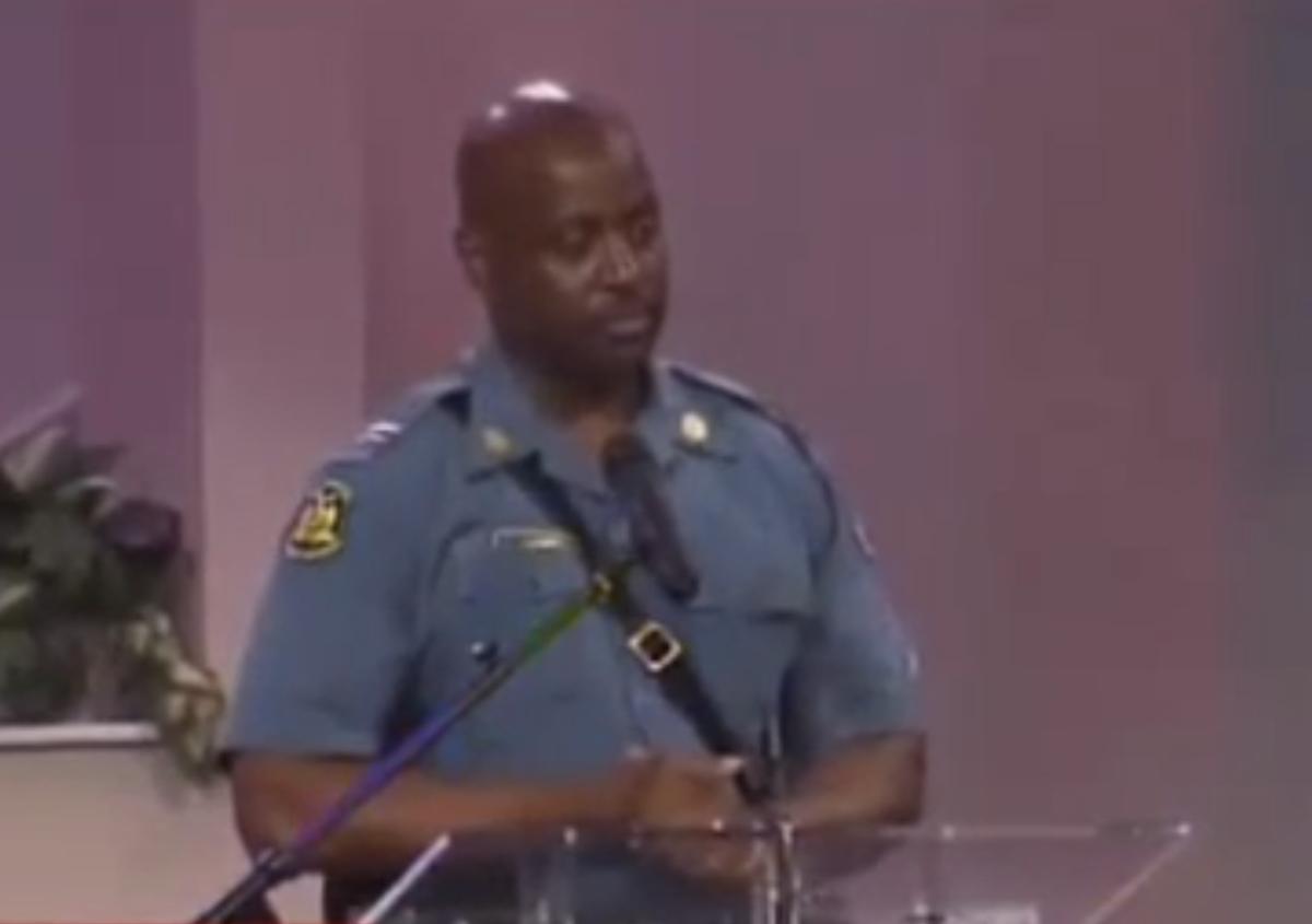Captain Ron Johnson          (screenshot/YouTube)