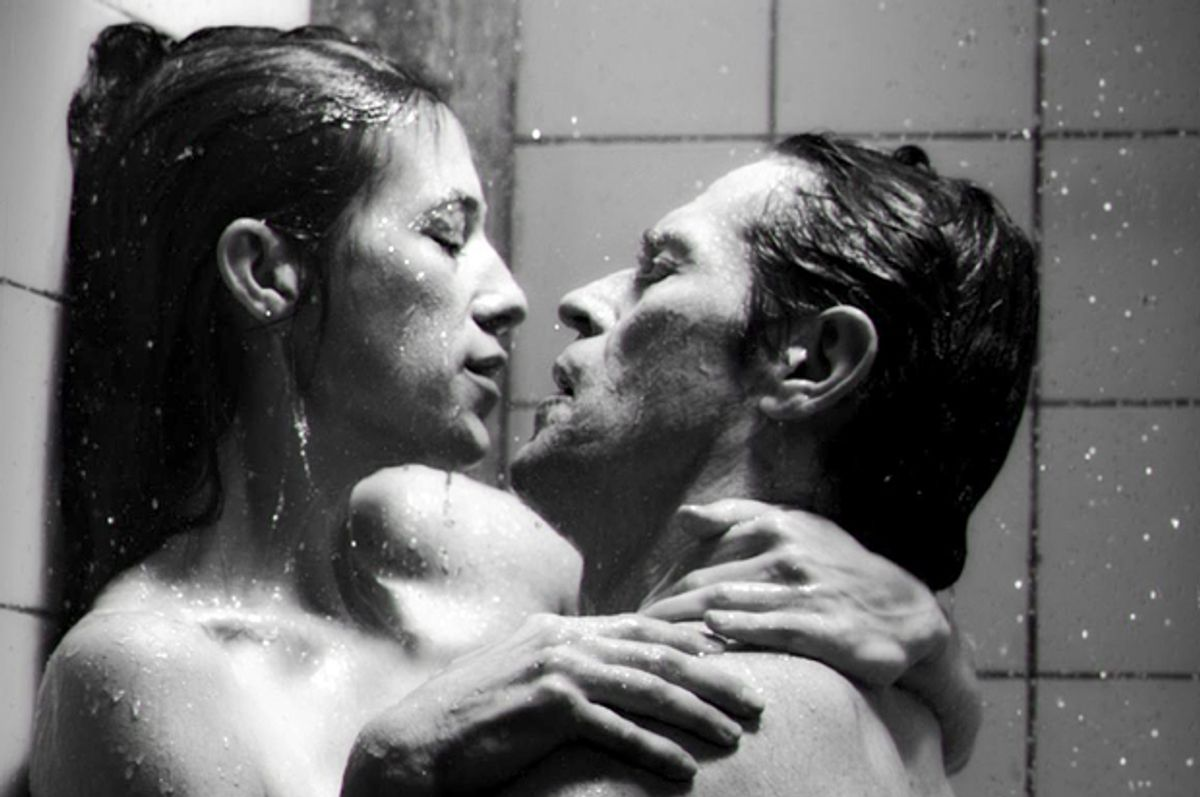"""Charlotte Gainsbourg and Willem Dafoe in """"Antichrist"""""""