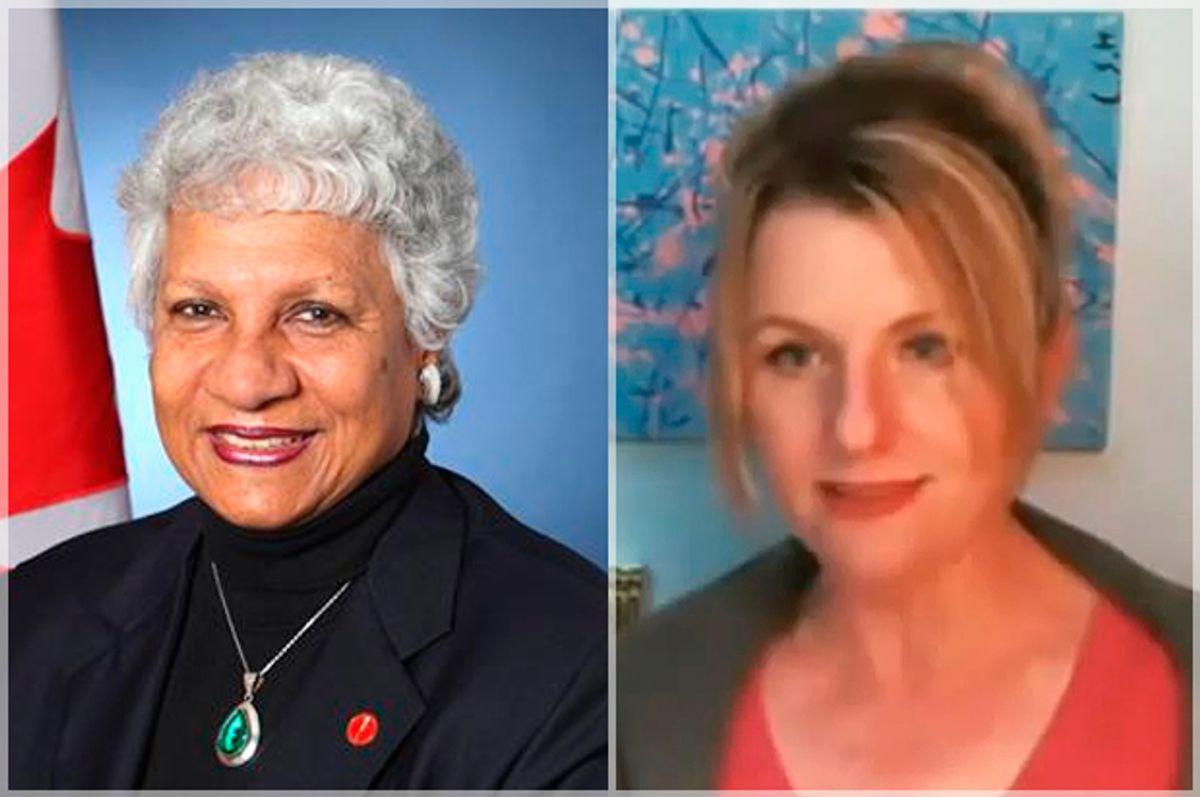 Anne Cools, Janet Bloomfield    (http://senatorcools.sencanada.ca/YouTube/Janet Bloomfield)