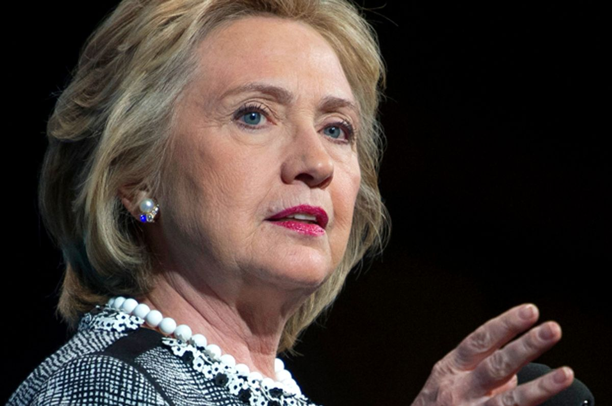 Hillary Clinton (AP/Cliff Owen)