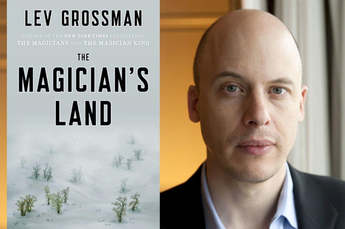 Lev Grossman     (Penguin/Mathieu Bourgois)