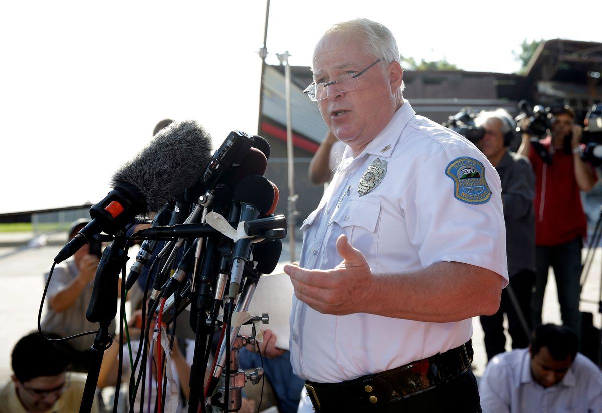 Ferguson Police Chief Thomas Jackson (AP/Jeff Roberson)