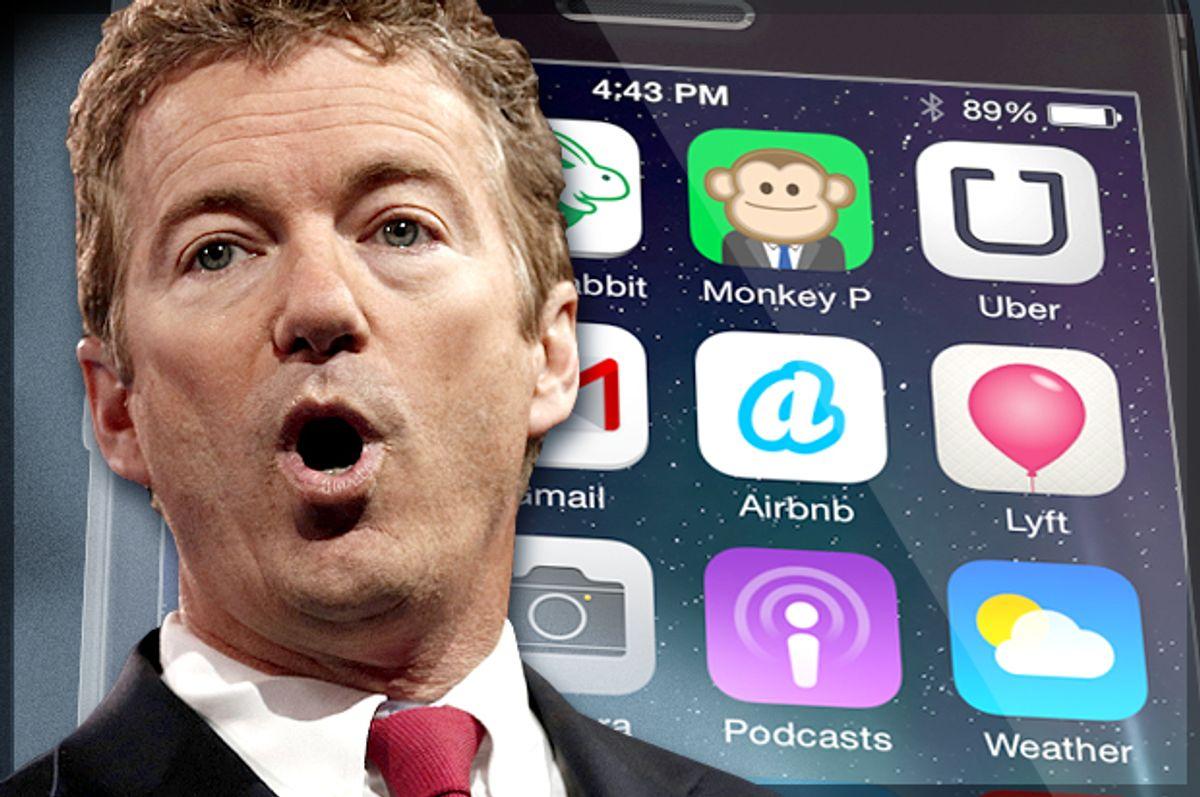 Rand Paul                                  (Reuters/Kevin Lamarque/Salon)