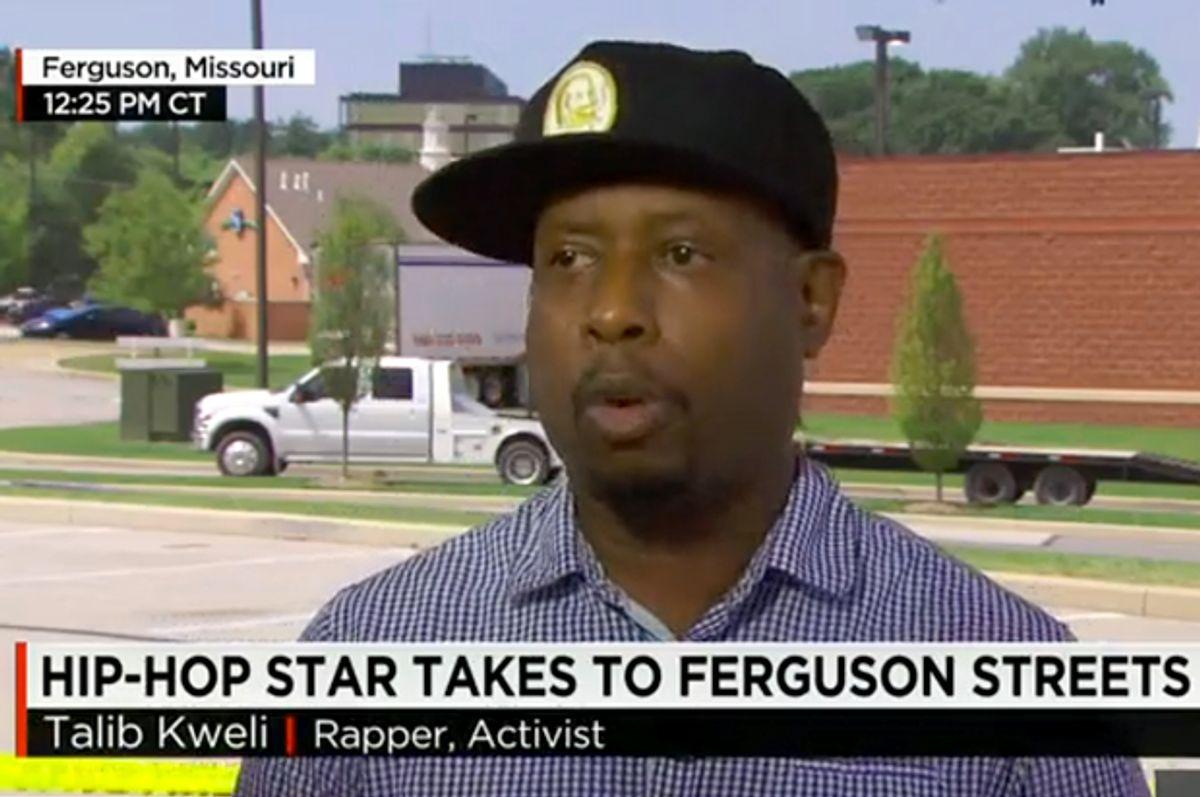 Talib Kweli    (CNN)