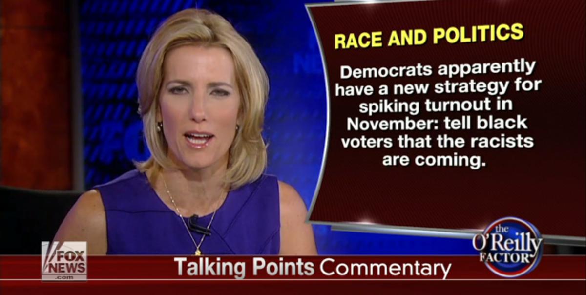 Laura Ingraham                        (Screen shot, Fox News)