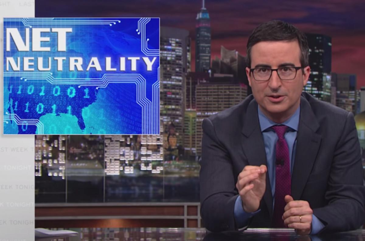 John Oliver on net neutrality          (HBO)