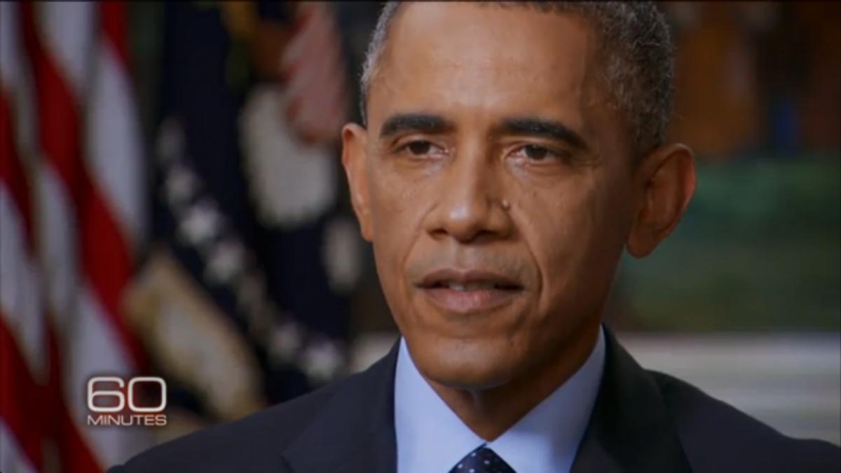 "President Barack Obama                        (Screen shot, <a href=""http://www.cbsnews.com/videos/president-obama-thats-how-we-roll"">CBS ""60 Minutes""</a>)"