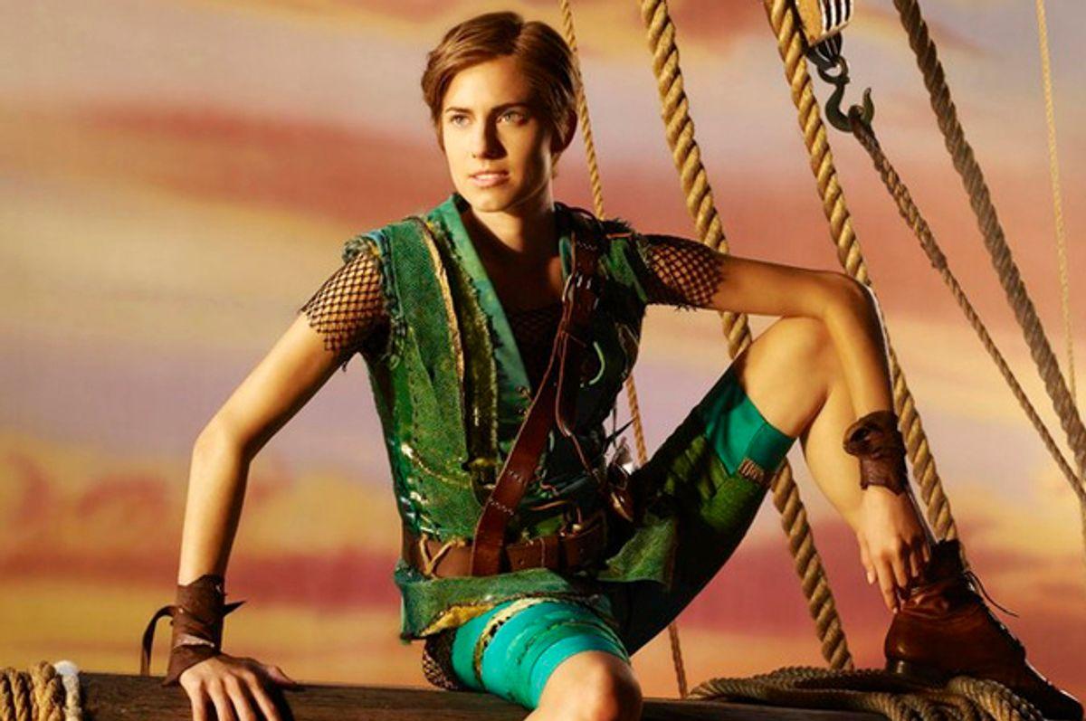 Allison Williams as Peter Pan        (NBC/Nino Munoz)