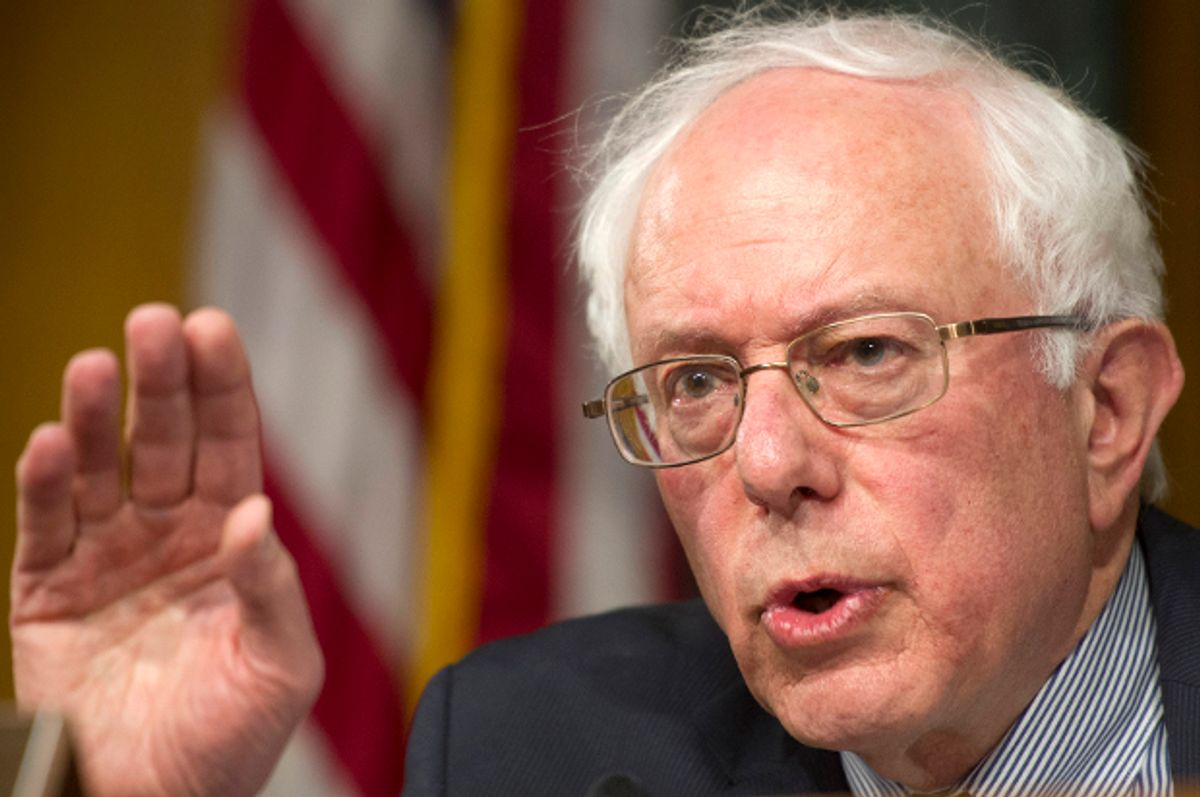 Bernie Sanders                            (AP/Cliff Owen)