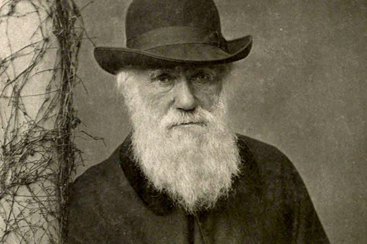 Charles Darwin          (Wikimedia)