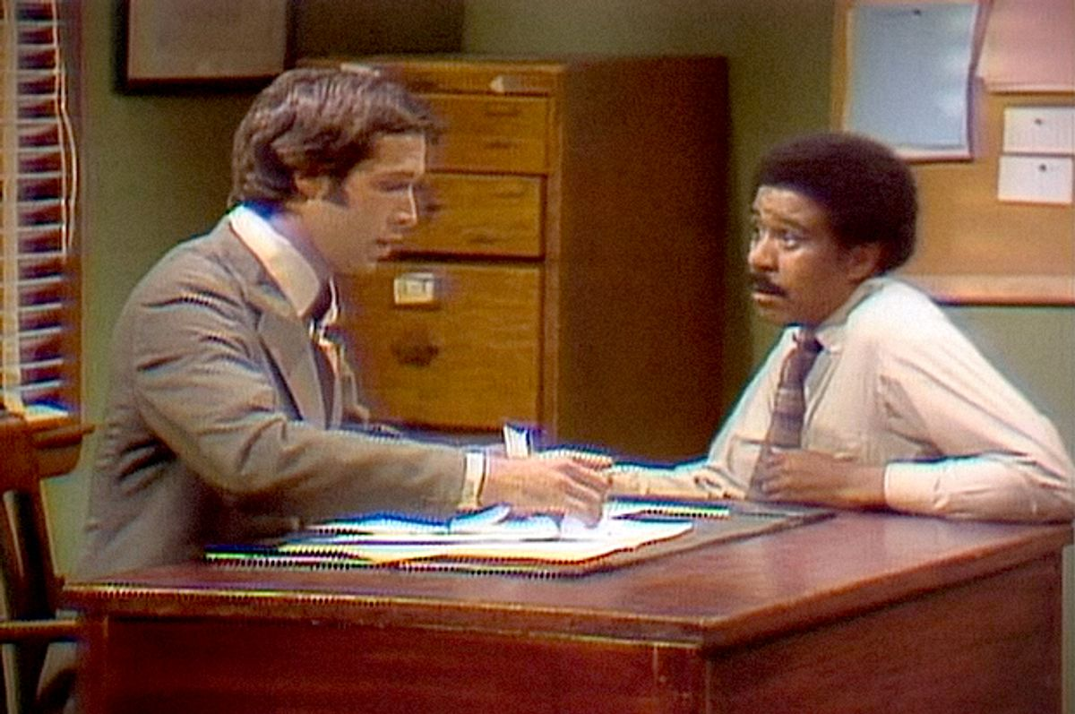 """Chevy Chase and Richard Pryor in """"Saturday Night Live""""    (NBC)"""