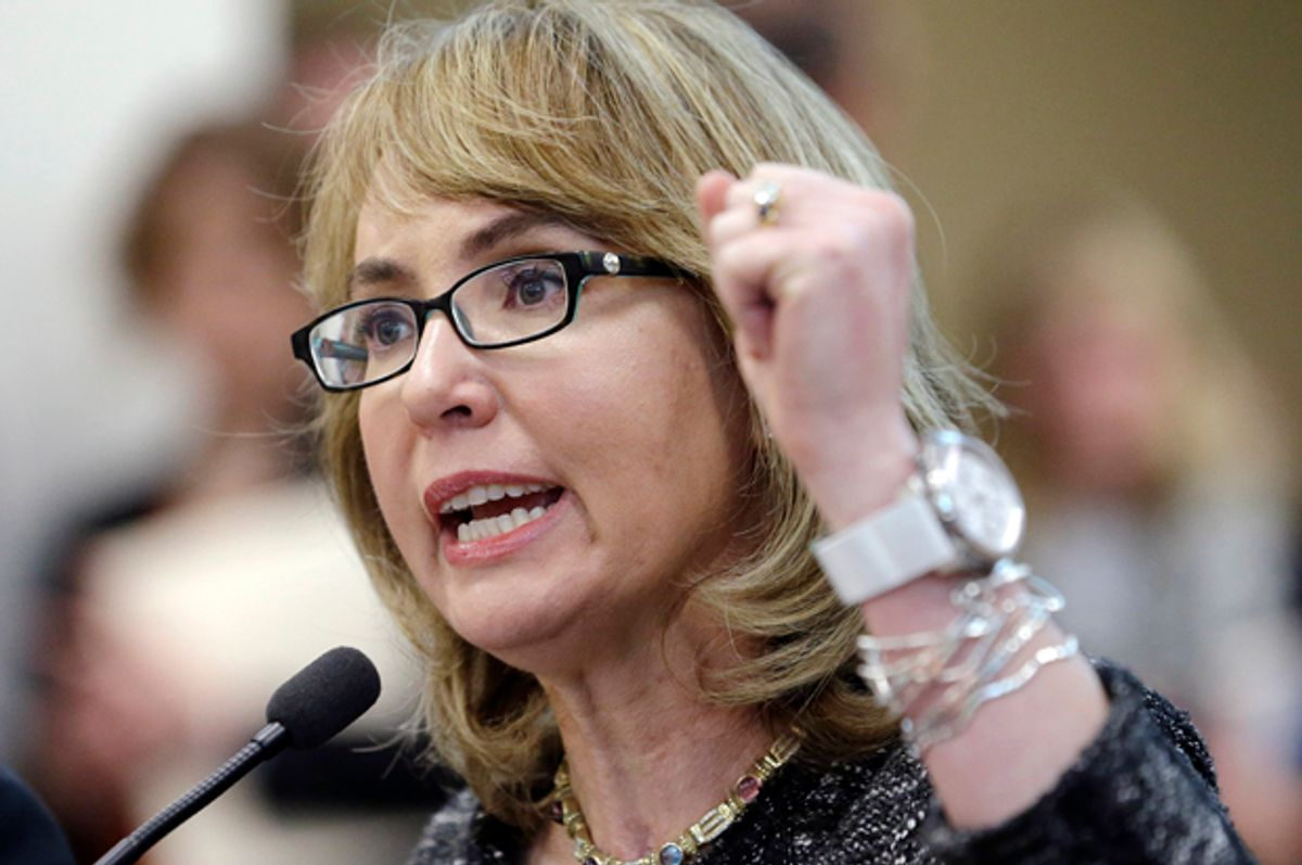 Gabrielle Giffords       (AP/Elaine Thompson)