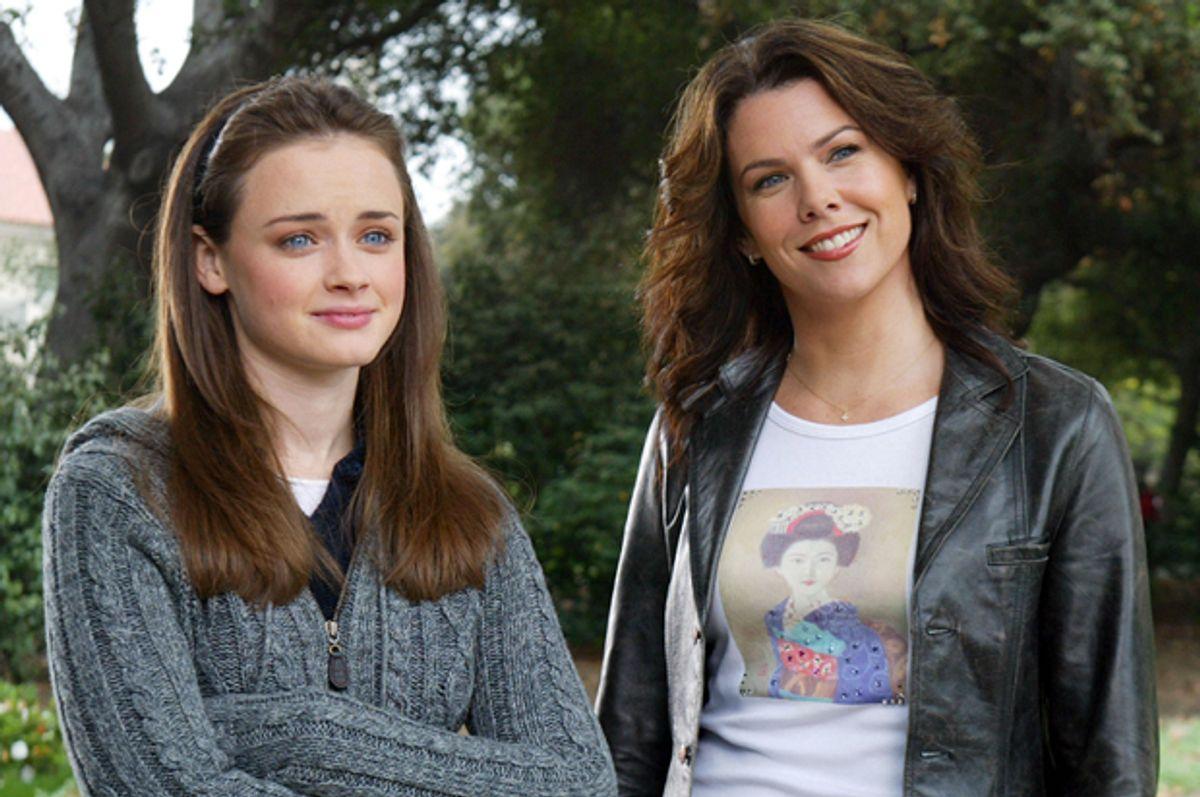 "Alexis Bledel and Lauren Graham in ""Gilmore Girls""       (The WB)"