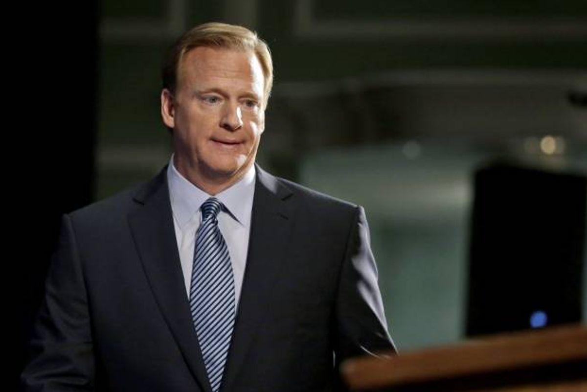 NFL Commissioner Roger Goodell   (AP Photo/Jason DeCrow)