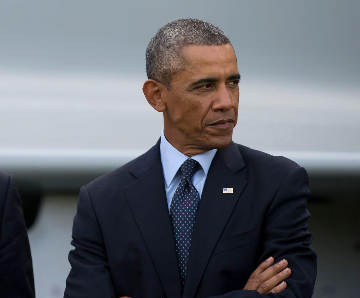 U.S. President Barack Obama   (AP Photo/Jon Super)