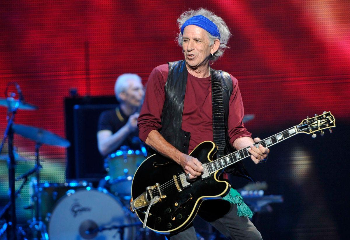 Keith Richards (AP/Chris Pizzello)