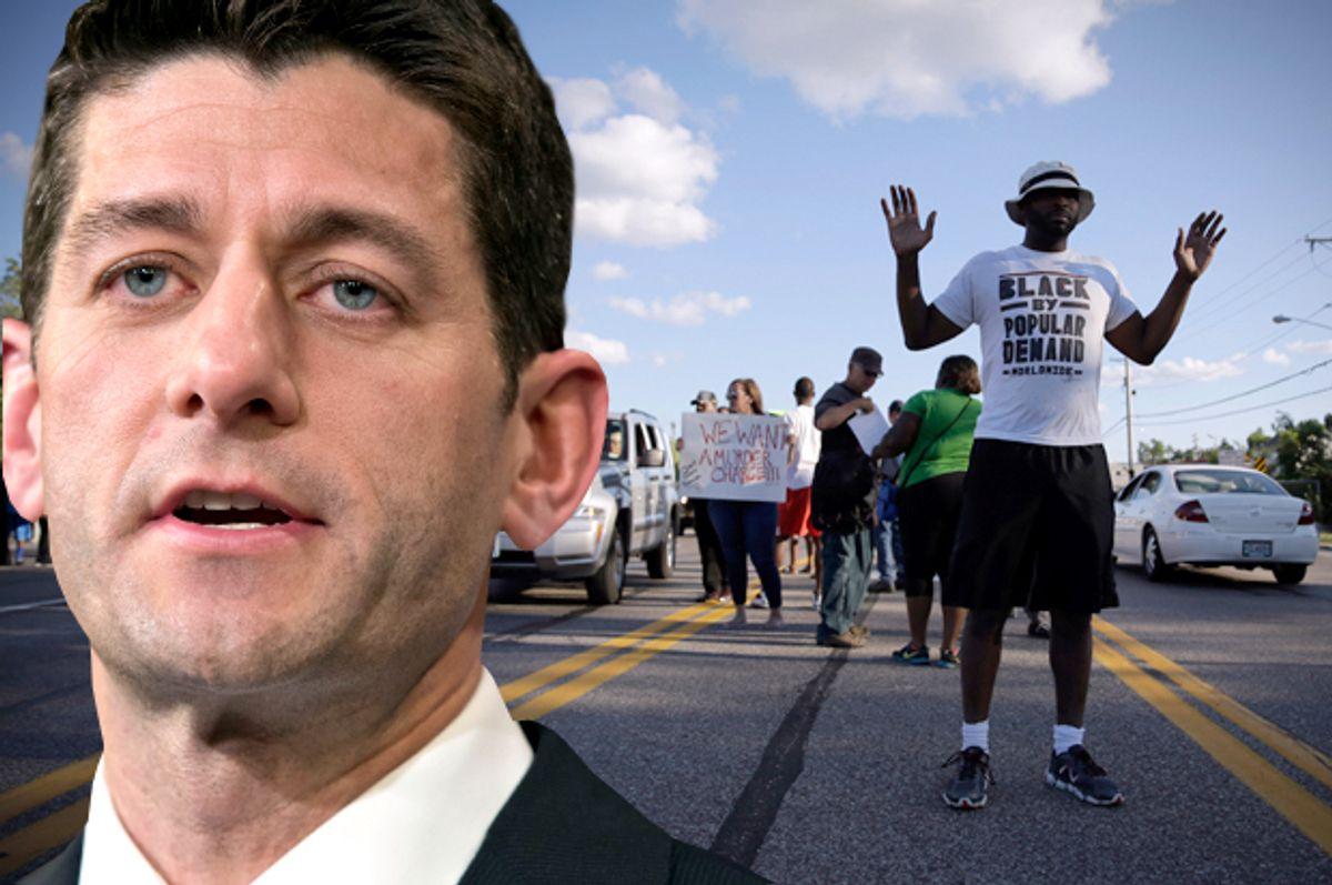 Paul Ryan               (AP/J. Scott Applewhite/Jeff Roberson/photo montage by Salon)