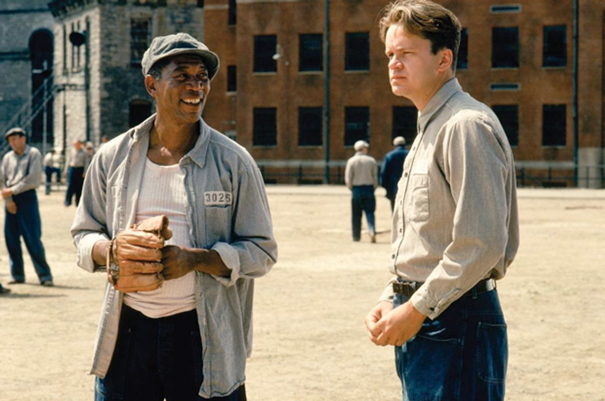 "Morgan Freeman and Tim Robbins in ""The Shawshank Redemption""       (Castle Rock Entertainment)"