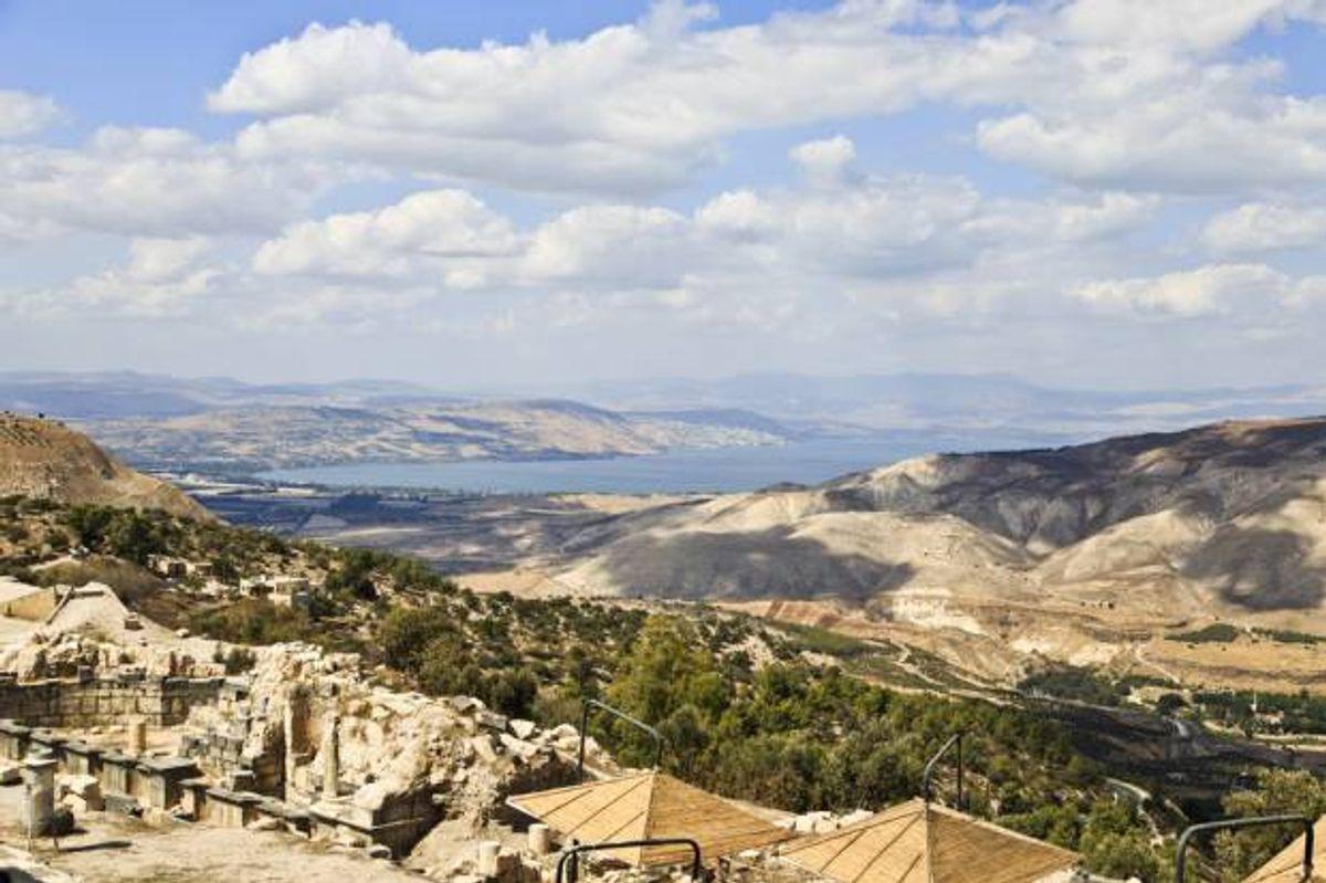 Sea of Galilee from Jordan   (<a href='url to photographer'>Ahmad A Atwah</a> via <a href='http://www.shutterstock.com/'>Shutterstock</a>)