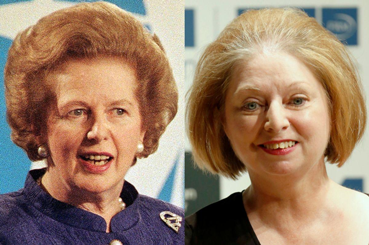Margaret Thatcher, Hilary Mantel     (AP/Gill Allen/Reuters/Luke Macgregor)