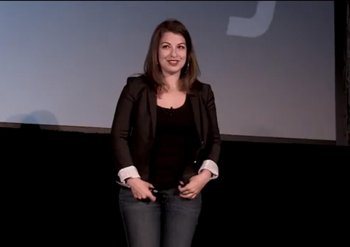 Anita Sarkeesian at XOXO Festival    (screenshot/XOXO Festival)