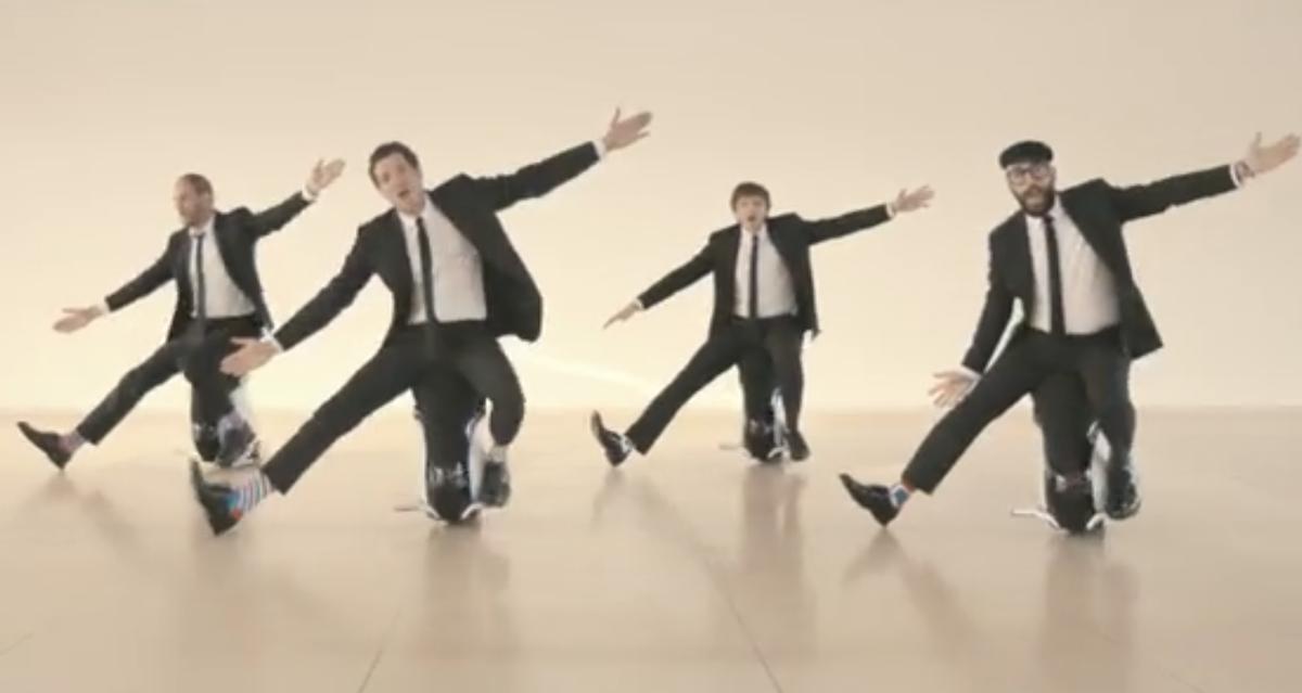 "OK Go video for ""I Won't Let You Down""      (OK Go/YouTube)"
