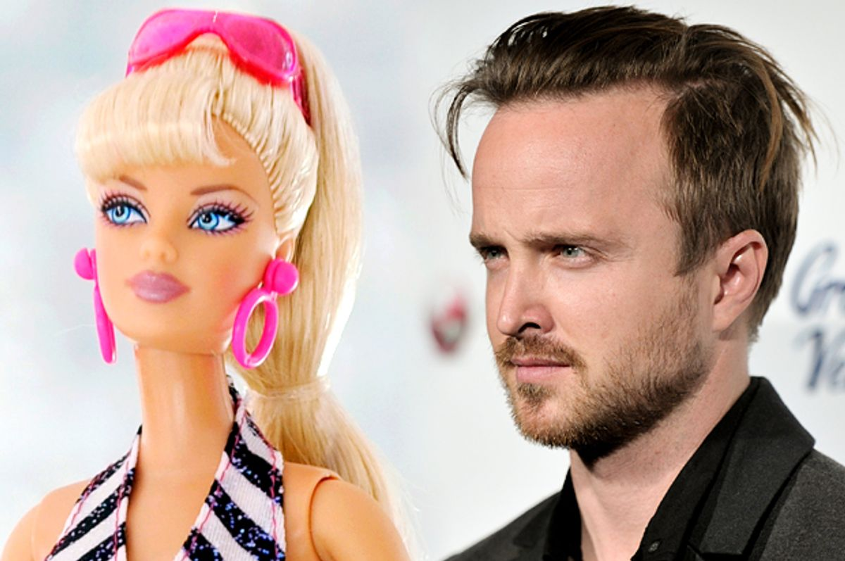 Barbie, Aaron Paul         (AP/Chris Pizzello/Richard Shotwell/Photo montage by Salon)