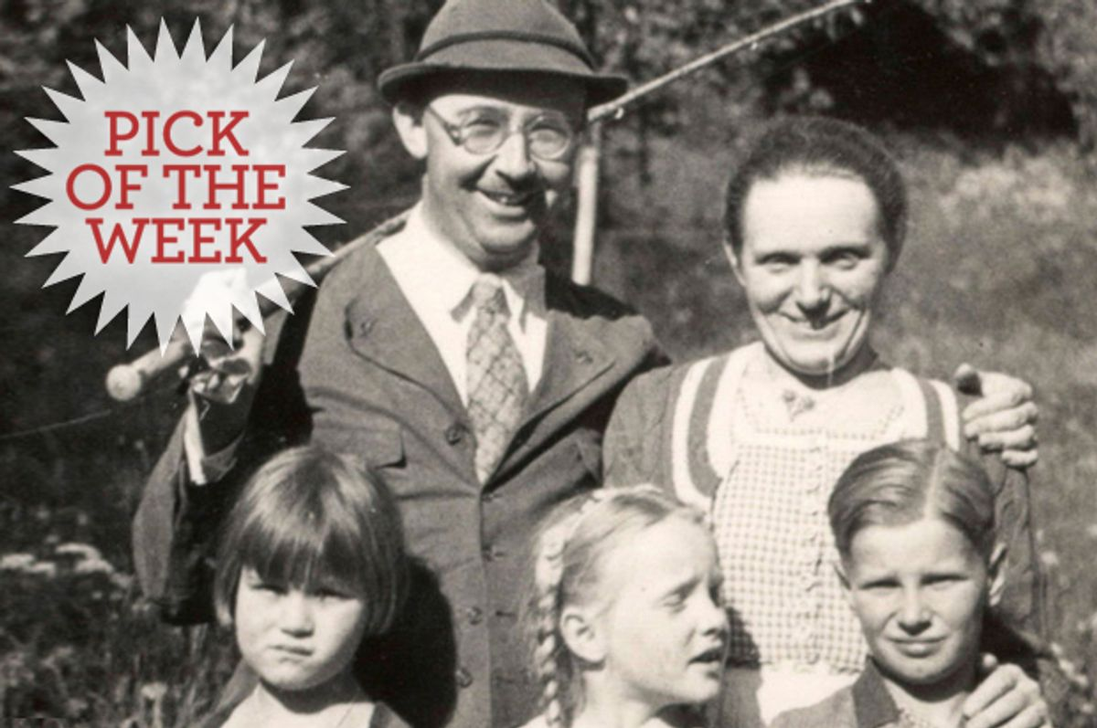 """Heinrich Himmler and his family, in an undated photograph from """"The Decent One."""""""