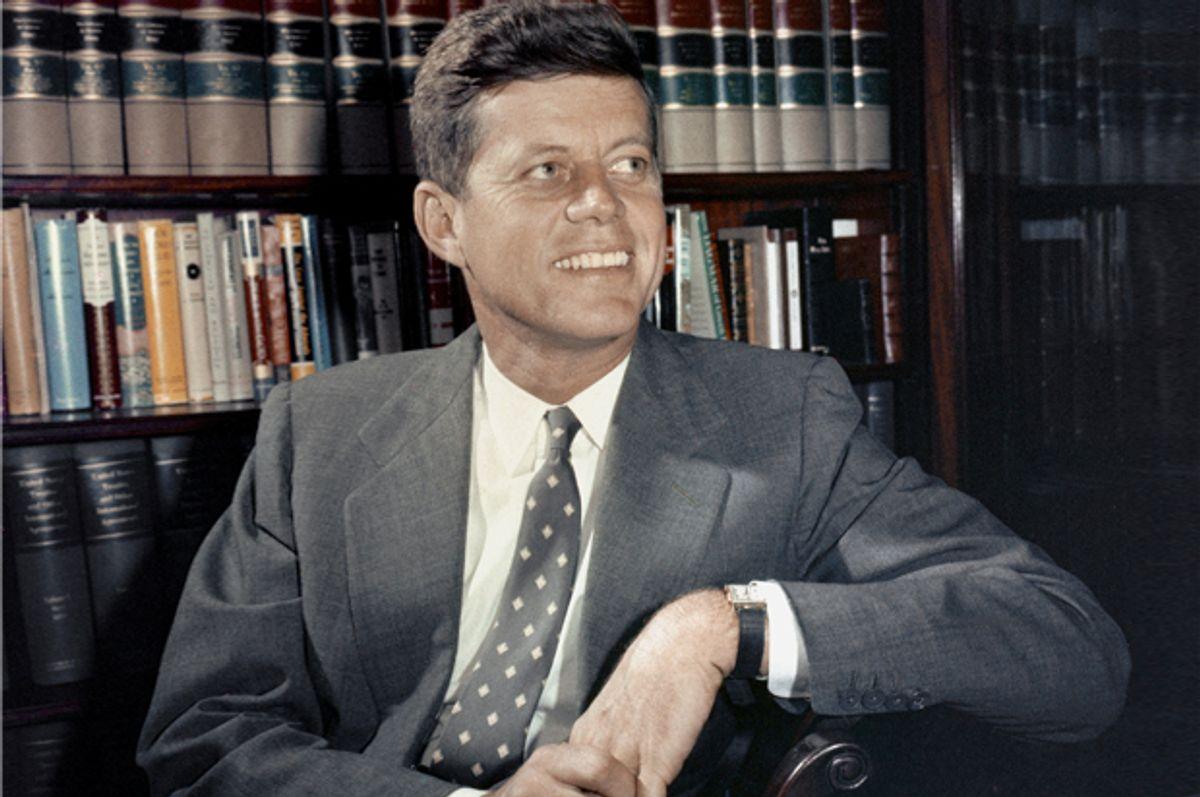 John F. Kennedy     (AP)
