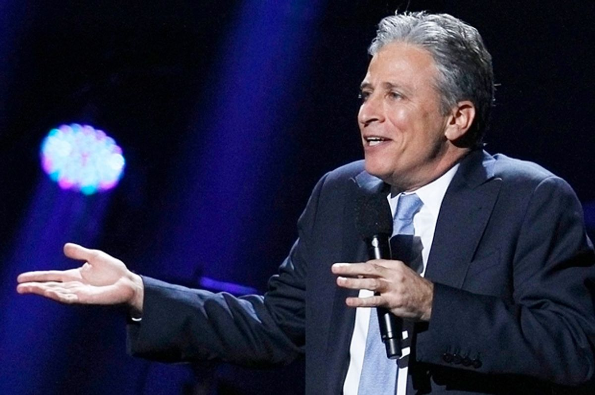 Jon Stewart       (Reuters/Lucas Jackson)