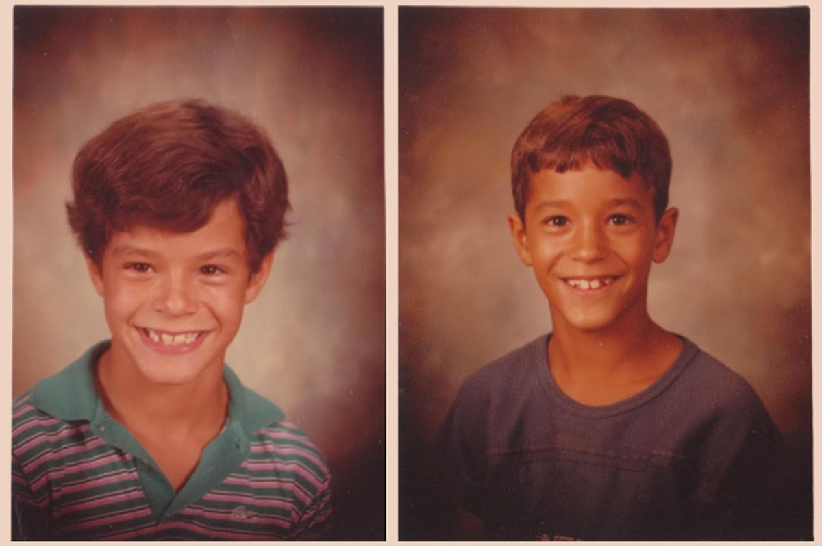A photo of the author's sons: Brennan, left, and Colin.