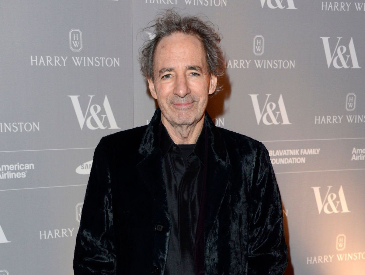"""FILE - In this Oct. 16, 2012 file photo, actor Harry Shearer poses at V&A Hollywood Costume Dinner at V&A Museum in London. Shearer portrays President Richard Nixon in """"Nixon is the One,"""" premiering Monday, Oct. 20, 2014, on MyDamnChannel on YouTube. (Photo by Jon Furniss/Invision/AP, File)  (Jon Furniss/invision/ap)"""