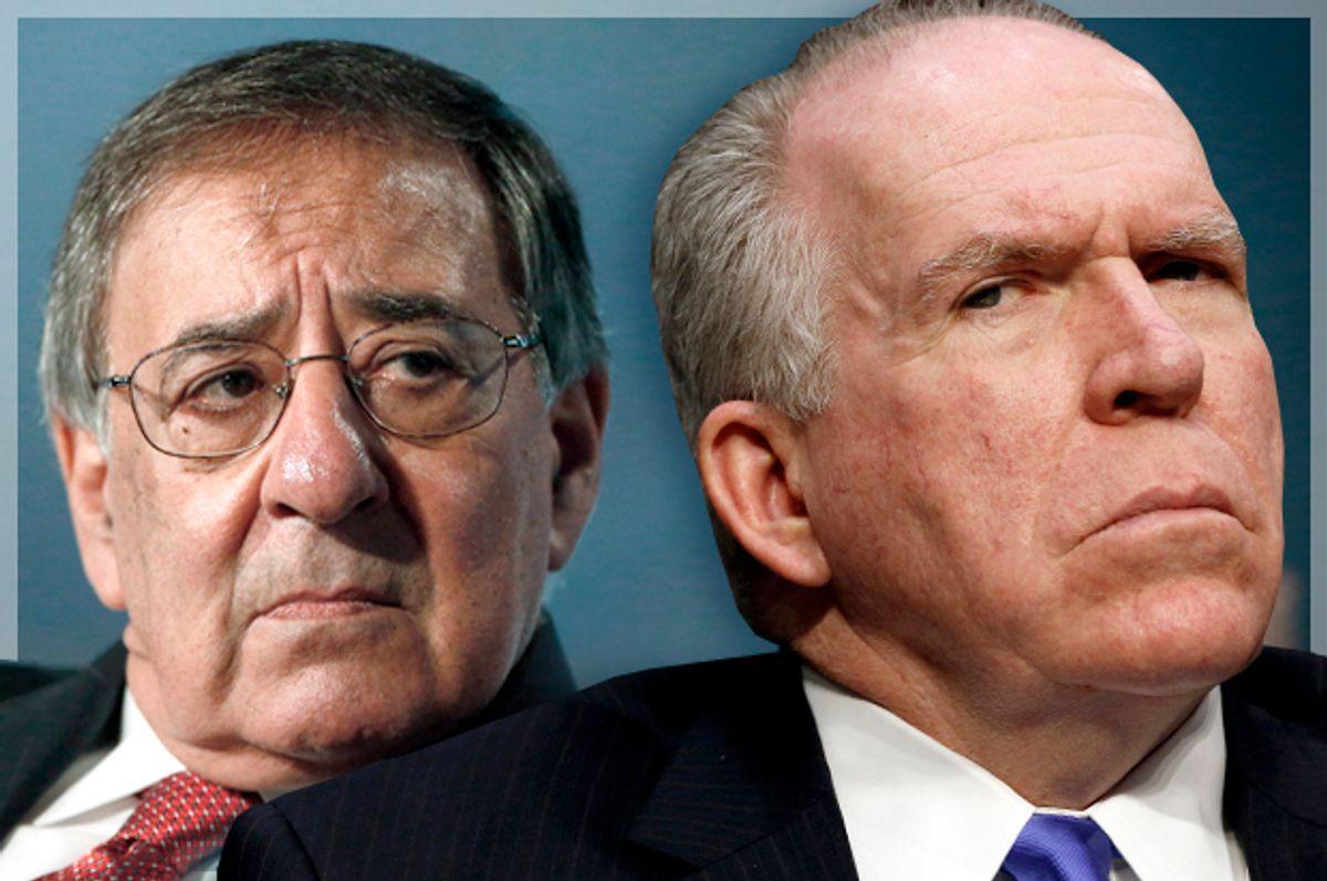 Leon Panetta, John Brennan          (Reuters/Jonathan Ernst/Kevin Lamarque/Photo montage by Salon)