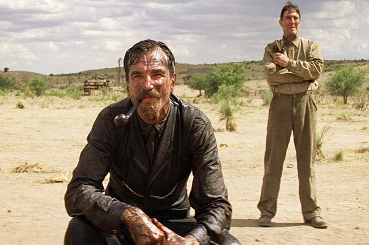 """Daniel Day Lewis as Daniel Plainview in """"There Will Be Blood""""      (Paramount)"""