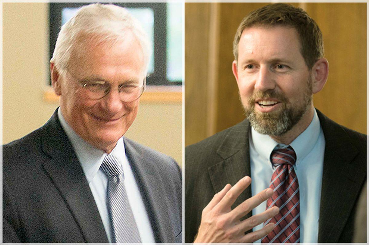 Mike Wheat, Lawrence VanDyke     (AP/Lido Vizzutti)